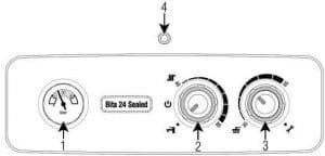 پکیج دیواری بیتا (بی تا) مدل Bita 24